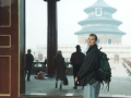 Carl Dechiara at the temple in China