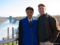Carl Dechiara with his teacher Grandmaster Chen Qingzhou - Niagara Falls