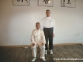 Carl Dechiara and his teacher Grandmaster Chen Qingzhou