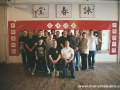 Carl Dechiara with his teacher Master Kenneth Chung (1991-2010) and students