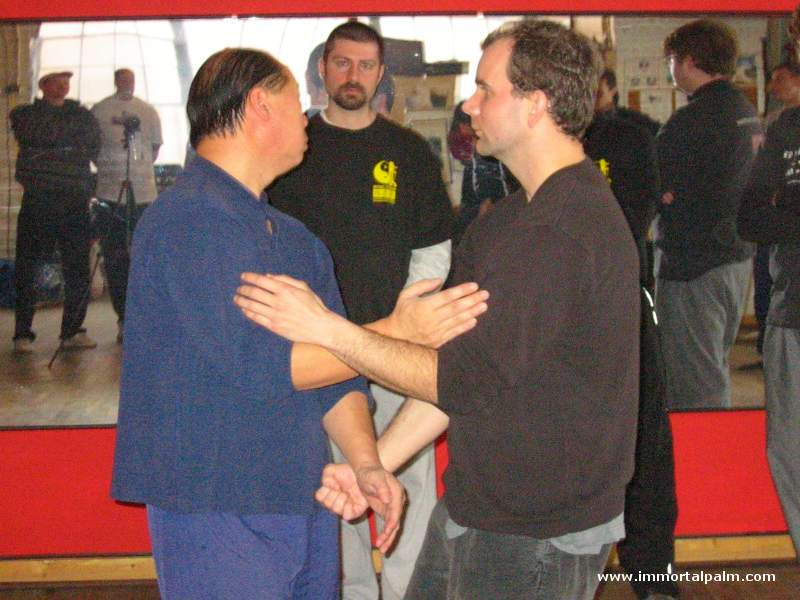 Carl Dechiara's teacher Master Kenneth Chung (1991-2010)