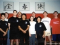 Carl Dechiara with his teacher Grandmaster Victor Sheng Long Fu and students