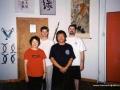 Carl Dechiara's teacher Grandmaster Victor Sheng Long Fu with students