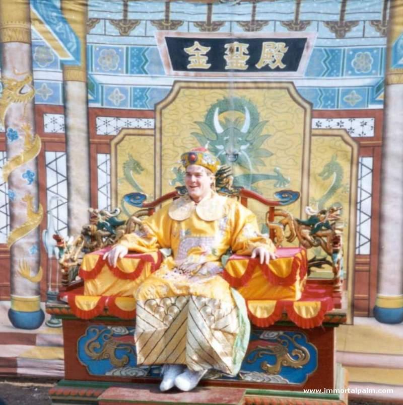 Carl Dechiara in China