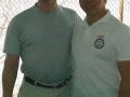 Carl Dechiara with his teacher (1991-2010) Master Kenneth Chung