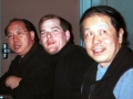 Carl Dechiara with his teacher (1991-2010) Master Kenneth Chung and Master Jack Ling